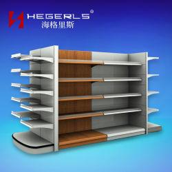 Tego Metalldoppelt-Seiten-Supermarkt-Regal von Hegerls