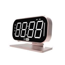 Цифровой Будильник для спальни LED маленький письменный стол часы с регулируемой яркостью регулятора яркости освещения приборов 12/24ч Snooze можно использовать электрический рядом с часами с адаптером