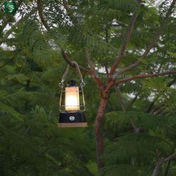 야외 텐트 조명 야영 대나무 램프