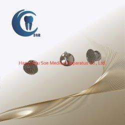 Accesorios de ortodoncia Dental de metal redondo ojal de la Base de malla