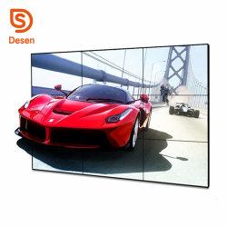 55 LCD van de Vatting van de duim de Super Smalle VideoVertoning van de Muur met het VideoControlemechanisme van de Muur voor Reclame