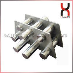 Strong Ss 304/316 tuyau de la grille magnétique en néodyme Grill/// grille filtre pour l'Agriculture et industrie alimentaire
