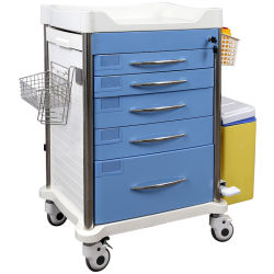 L'hôpital Instrument Skr-At620 Chariot de soins infirmiers de l'ABS