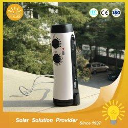 Linterna solar portátil con la Radio de las luces de LED multi función de las luces solares para el Camping
