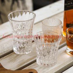 زجاجيّة [ويسكي] فنجان كحول زجاجيّة برميل دوّار فنجان