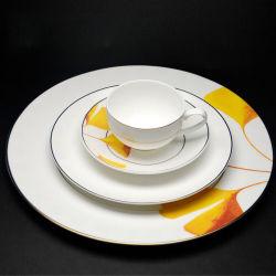 陶磁器テーブルウェア\ギフト\陶磁器皿\食事用食器セット\テーブルウェア版\夕食製品は卸し売り高貴な食事用食器セットをセットした