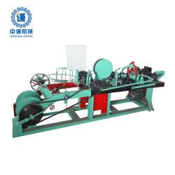 Máquina de arame farpado e arame farpado fazendo a máquina/máquina de Arame farpado de barbear