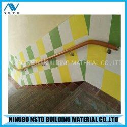Stock de mains courantes en PVC souple pour l'extérieur Étapes/main courante de l'escalier amovible/rampes en acier