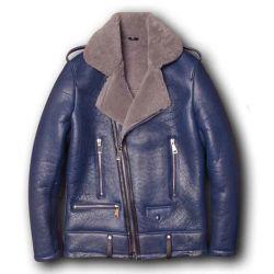 Os empresários espessura formal de ovelha Natural Suit Vestuário de peles no Inverno