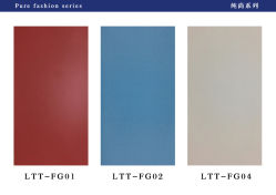 Vochtbestendige Lichte/Donkere het Lamineren van pvc van de Kleur Blad/Film voor Binnenlands Decoratief Comité/Behang