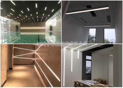 LEIDEN van het Profiel van het LEIDENE Verlichting Opgeschort Aluminium van het Pakhuis DIY Hangend Licht