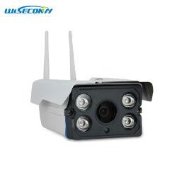 Лучшая цена Wireless для использования вне помещений инфракрасное ночное видение увеличенное время записи Smart WiFi IP-Bullet камеры