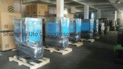 10hp 7.5kw 220V 440V Eléctricos Silencioso Compresor de Aire de Tornillo Rotativo con el Tanque de Aire