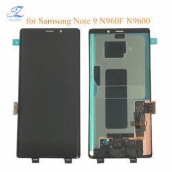 شاشة LCD أصلية فائقة AMOLED مقاس 6.4 بوصة مع شاشة لمس لعرض الإطار مجموعة المحول الرقمي لـ Samsung Galaxy Note 9 Note9 N960f