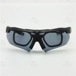 Custom Label privé des lunettes de tir militaire clarté Anti-Scratches Lunettes de vision nocturne pour l'homme Airsoft Lunettes de pousses