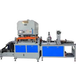 L'étiquette adhésive d'aluminium de bande d'alimentation automatique de chemise de code à barres automatique Appuyez sur la mousse EVA Die-Cutting lit plat Die Machine de coupe