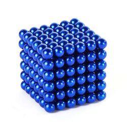 5mm 216pcs Neocube bleu avec une bonne qualité pour la vente