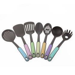 Banheira de venda de novos Eco-Friendly 8 COMPUTADORES DE PP lidar com ferramentas de nylon de cozinha resistentes ao calor