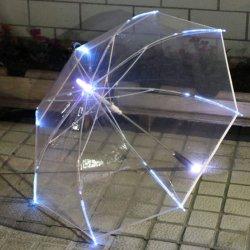 LEDの傘のゴルフ傘シャフトのまたは構築される底のトーチで