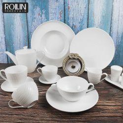 Hot Sale Ustensiles De Cuisine Vaisselle en porcelaine pour la vaisselle en céramique Hôtel et restaurant