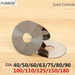 Stevig Carbide die het Blad van de Zaag voor Koper Cutiing. scheuren