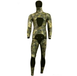 7mm Neopreen Camouflage Diving Speerfishing Wetsuit voor heren