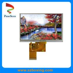 5'' TFT дисплей с сенсорным экраном с технологией RGB интерфейс для системы навигации GPS