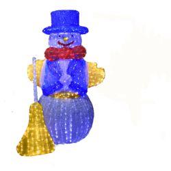 O LED 3D Natal Personalizado Piscina IP65 Motivo de decoração boneco de luz de acrílico