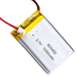 Piccola 603450 batteria ricaricabile di 3.7V 1100mAh Lipo Bbattery per l'automobile di RC, attrezzo a motore