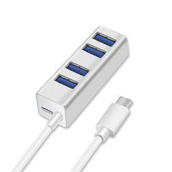 USB3.1ハブ、4ポートUSB 3.0のハブ
