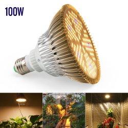 2019 Novo Item E27 Branco Quente Full Spectrum 100W planta LED luz crescer