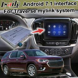 В Android Market Lsailt система навигации GPS для автомобилей Chevrolet Traverse Mylink системы Video Interface обновления Carplay Mirrorlink факультативного