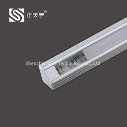 شريط إضاءة LED من الألومنيوم المثلث للخزانة / الخزانة / خزانة / عرض / كيوبورد / طاولة المكتب J1607