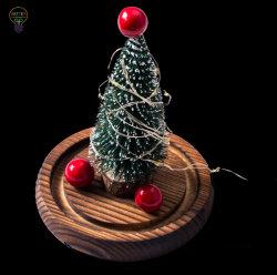 Vidro de LED de árvore de Natal da Luz do Teto