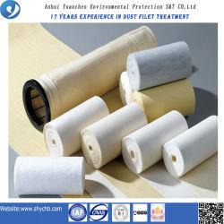 시멘트 산업에서 사용되는 폴리에스테르 Nomex 및 섬유 유리 필터 섬유