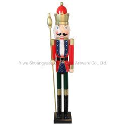 Интерьер Деревянные рождественские солдат Щелкунчик рождественских подарков