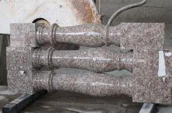 Clôture de granit à bas prix G687, la main courante, rampe d'escalier pour la maison, villa