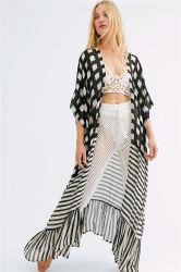 Playa Pareo Kittel für Strand-Kimono-Badebekleidungs-Frauen-Spitze-Strand-Kleid-Dame-Badebekleidungs-Vertuschung