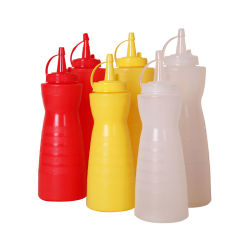 زجاجة شمّار بلاستيك بصلصة الكبس سعة 12 أونصة سائلة على شكل قرعة 16 أونصة سائلة في المطعم وبار