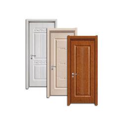 Водонепроницаемый WPC дверь с WPC рамы и ВКН кожи для внутренних