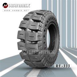 La prensa neumática Hanmix Non-Marking Industrial en la carretilla elevadora sólido Neumáticos 16X6-8 de 18X7-8 200X50-10 21X8-9 23X9-10