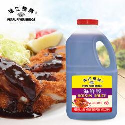 Pont de la rivière des perles de la sauce Hoisin 2.2kg Additif alimentaire saine et naturelle