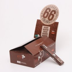 الجملة 66 أوراق أوراق سيجارة الأنابيب اليدوية التبغ
