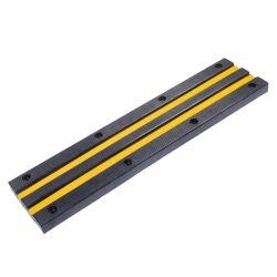 Estacionamento borracha pesado de refrear o bloco de embalagem alvo de Estacionamento Alta Segurança Roda riscas amarelas reflexivo parar de rolhas para carro
