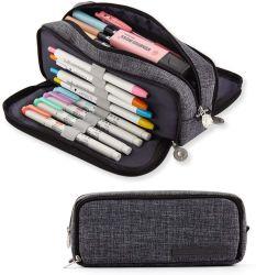 Crayon personnalisé Sac, Sac de papeterie, OEM et ODM Pen cas