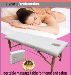 Houten draagbare Massage tafel Massage Bed Massage banken Beauty Products Salon meubilair