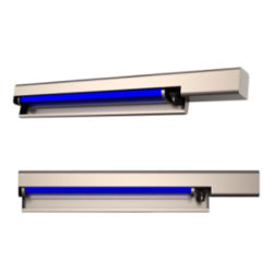 Efficace nell'impedire l'unità germicida UV di carico astuta fissata al muro della lampada di antivirus dei virus e dei batteri