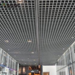 L'intérieur décoratifs en aluminium Grille métallique de plafond suspendu en treillis