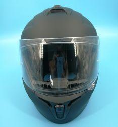 Безопасность для принадлежностей мотоциклов рампы АБС, полностью закрывающую лицо шлем наполовину открытой модульной системы Jet Clean Креста той же модели Axxis Draken с DOT и Сертификаты доступны Pinlock ЕЭК