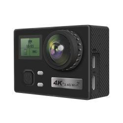 De nieuwste Eis van de Sport van de Helm van 2 Duim 16MP Waterdichte 4K Camera van de Actie is Unieke Videocamera WiFi voor Sport